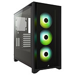 Corsair iCUE 4000X RGB Tempered Glass (Negro)
