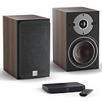 Dali Oberon 1 C Noyer foncé + Sound Hub Compact