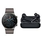 Huawei Watch GT 2 Pro (Classique) + FreeBuds 3i