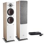 Dali Oberon 7 C Chêne clair + Sound Hub Compact