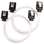 Cable SATA Corsair Premium 30 cm (blanco)