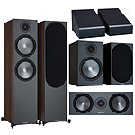 Monitor Audio Pack 500 Atmos 5.0.2 Noyer