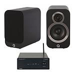 Tangent Ampster BT II + Q Acoustics 3010i Noir