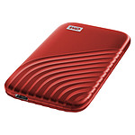 WD My Passport SSD 500 Go USB 3.1 - Rouge