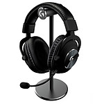 Logitech G Pro X Gaming Headset Black Stand