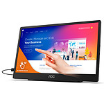 "AOC 15.6"" LED Touch - 16T2"