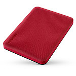Toshiba Canvio Advance 1 TB Rojo