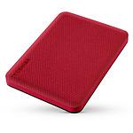 Toshiba Canvio Advance 2Tb Rojo