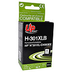 UPrint Cartouche compatible 301XL CH563EE (Noir)