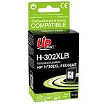 UPrint Cartouche compatible 302XL F6U68AE (Noir)
