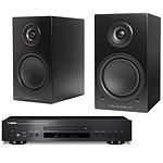 Yamaha CD-S300 Noir + Triangle Elara LN01A Noir mat