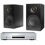 Yamaha CD-S300 Argent + Triangle Elara LN01A Noir mat