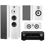 Denon AVC-X3700H Noir + B&W Pack 5.0 603 S2 GM Blanc