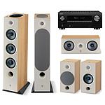 Denon AVC-X3700H Noir + Focal Pack Chora 826-D Light Wood