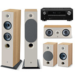 Denon AVC-X3700H Noir + Focal Pack Chora 816 Light Wood