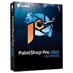 Corel PaintShop Pro 2021 Ultimate Mini Box - 1 utilisateur - Version mini boîte
