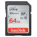SanDisk Ultra SDXC UHS-I U1 64 Go (SDSDUNR-064G-GN3IN)