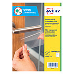 Avery 40 Films Antimicrobiens 139 x 99.1 mm (AM0P4A4-10)