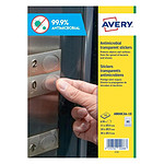 Avery 630 Stickers ronds antimicrobien tailles assorties (AM00CA4-10)