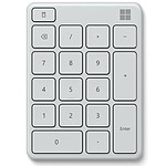 Microsoft Wireless Number Pad Blanc