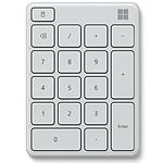 Microsoft Wireless Number Pad Blanco