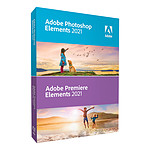 Adobe Photoshop Elements & Premiere Elements 2021 - Licence perpétuelle - 1 PC - version boîte