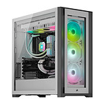 Corsair iCUE 5000X RGB Tempered Glass (Blanc)