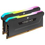 Corsair Vengeance RGB PRO SL Series 64 Go (2 x 32 Go) DDR4 4000 MHz CL18 - Noir