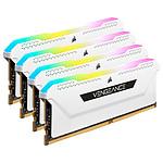 Corsair Vengeance RGB PRO SL Series 64 Go (4 x 16 Go) DDR4 3600 MHz CL18 - Blanc