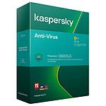 Kaspersky Anti-Virus - Licence 1 poste 1 an