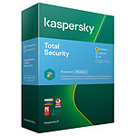 Kaspersky Total Security - Licence 5 postes 1 an