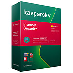 Kaspersky Internet Security - Licence 3 postes 1 an