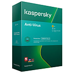 Kaspersky Anti-Virus - Licence 3 postes 1 an