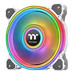 Thermaltake Riing Quad 12 RGB Radiator Fan TT Premium Edition Single Fan Blanc
