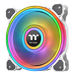 Thermaltake Riing Quad 14 RGB Radiator Fan TT Premium Edition Single Fan Blanc