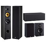 Davis Acoustics Pack Mani MK2 5.0 Frêne Noir