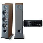 Yamaha MusicCast R-N803D Noir + Focal Chora 826 Dark Wood