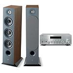 Yamaha MusicCast R-N803D Argent + Focal Chora 826 Dark Wood