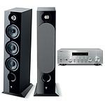 Yamaha MusicCast R-N803D Argent + Focal Chora 826 Noir