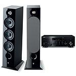 Yamaha MusicCast R-N803D Noir + Focal Chora 826 Noir