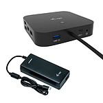 i-tec USB-C Dual Display Docking Station Power Delivery 100 W + Universal Charger 112 W