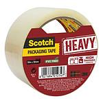 Scotch Rouleaux de ruban adhésif Heavy 50 mm x 50 m Transparent
