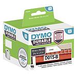 DYMO LW Rouleau d'étiquettes universelles permanentes blanches - 102 x 59 mm
