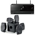 Yamaha RX-A2A Noir + Focal Sib Evo 5.1.2 Dolby Atmos