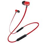 Schneider Earphones Bluetooth Micro Rouge