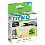 DYMO Pack de 500 étiquettes d'adresse de retour pour LabelWriter - 25 x 54 mm
