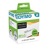DYMO Pack de 2x 130 Etiquettes Adresse LabelWriter - 89 x 28 mm