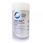 AF Anti-Bac+ Sanitizing Screen Wipes (Paquet de 60)
