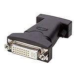 Belkin Adaptateur DVI-I (Femelle) vers VGA (Mâle) - Noir