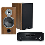 Yamaha MusicCast R-N303 Noir + Cabasse Antigua MT32 Noyer